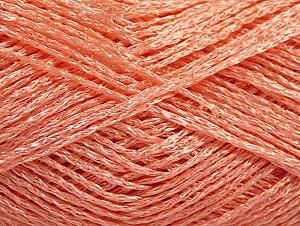 Fiber Content 80% Viscose, 20% Polyamide, Salmon, Brand ICE, fnt2-59855