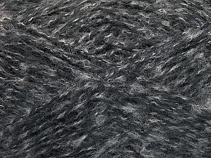 Fiber Content 40% Angora, 25% Polyamide, 20% Acrylic, 15% Mohair, Brand ICE, Grey Shades, fnt2-59978