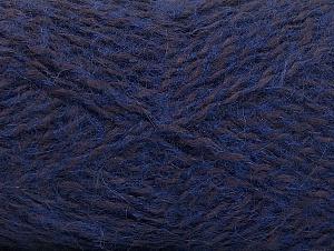Fiber Content 40% Angora, 25% Polyamide, 20% Acrylic, 15% Mohair, Purple, Maroon, Brand ICE, fnt2-59979