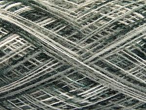 Fiber Content 50% Wool, 50% Acrylic, White, Brand ICE, Grey, Black, fnt2-59994