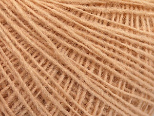 Fiber Content 50% Wool, 50% Acrylic, Brand ICE, Dark Cream, Yarn Thickness 2 Fine  Sport, Baby, fnt2-60018
