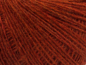 Fiber Content 50% Wool, 50% Acrylic, Brand ICE, Dark Copper, Yarn Thickness 2 Fine  Sport, Baby, fnt2-60027