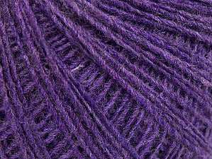 Fiber Content 50% Wool, 50% Acrylic, Lilac, Brand ICE, fnt2-60035