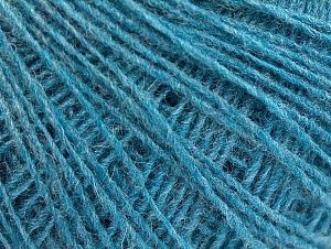 Fiber Content 50% Wool, 50% Acrylic, Turquoise, Brand ICE, fnt2-60039