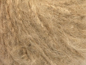 Fiber Content 45% Acrylic, 25% Wool, 20% Mohair, 10% Polyamide, Brand ICE, Cafe Latte, Yarn Thickness 4 Medium  Worsted, Afghan, Aran, fnt2-60050