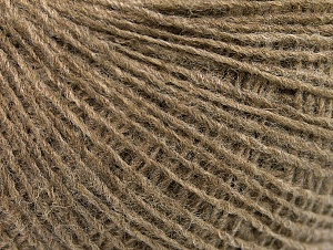 Fiber Content 50% Wool, 50% Acrylic, Brand ICE, Camel, Yarn Thickness 2 Fine  Sport, Baby, fnt2-60097