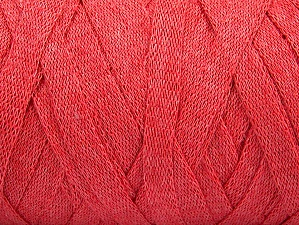 Fiber Content 100% Recycled Cotton, Salmon, Brand ICE, Yarn Thickness 6 SuperBulky  Bulky, Roving, fnt2-60126