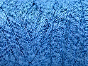 Fiber Content 100% Recycled Cotton, Light Blue, Brand ICE, Yarn Thickness 6 SuperBulky  Bulky, Roving, fnt2-60130