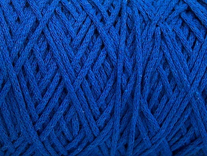 Fiber Content 100% Cotton, Brand ICE, Blue, Yarn Thickness 4 Medium  Worsted, Afghan, Aran, fnt2-60152