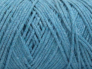 Fiber Content 100% Cotton, Light Blue, Brand ICE, Yarn Thickness 4 Medium  Worsted, Afghan, Aran, fnt2-60153