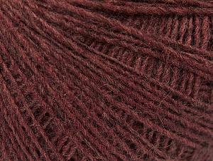 Fiber Content 50% Merino Wool, 25% Acrylic, 25% Alpaca, Light Maroon, Brand ICE, Yarn Thickness 2 Fine  Sport, Baby, fnt2-60187