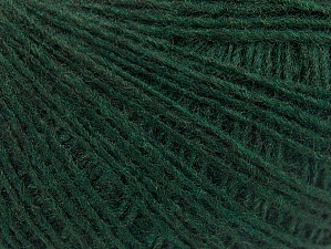 Fiber Content 50% Wool, 50% Acrylic, Brand ICE, Dark Green, Yarn Thickness 2 Fine  Sport, Baby, fnt2-60196