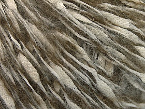 Fiber Content 30% Acrylic, 20% Mohair, 20% Wool, 20% Cotton, 10% Polyamide, White, Brand ICE, Grey, Camel, fnt2-60202