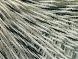Fiber Content 60% Acrylic, 40% Wool, White, Brand ICE, Black, fnt2-60222