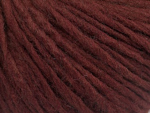 Fiber Content 100% Acrylic, Brand ICE, Burgundy, Yarn Thickness 4 Medium  Worsted, Afghan, Aran, fnt2-60229