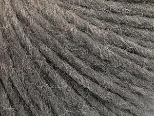Fiber Content 50% Acrylic, 50% Wool, Brand ICE, Grey, Yarn Thickness 4 Medium  Worsted, Afghan, Aran, fnt2-60251