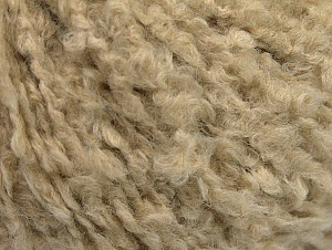 Fiber Content 40% Wool, 30% Polyamide, 30% Acrylic, Brand ICE, Beige, fnt2-60254