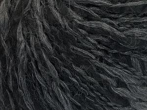 Fiber Content 40% Wool, 30% Polyamide, 30% Acrylic, Brand ICE, Grey, Black, fnt2-60330