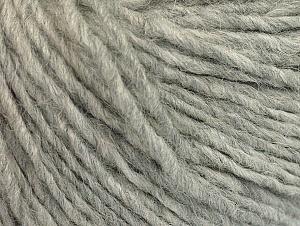 Fiber Content 56% Acrylic, 3% Polyamide, 20% Wool, 20% Alpaca, 1% Elastan, Brand ICE, Grey, fnt2-60331