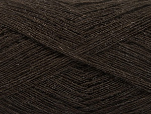 Fiber Content 100% Wool, Brand ICE, Brown, fnt2-60394