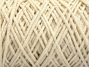 Fiber Content 100% Cotton, Brand ICE, Ecru, Yarn Thickness 5 Bulky  Chunky, Craft, Rug, fnt2-60412