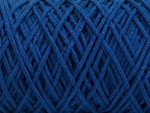 Fiber Content 100% Cotton, Brand ICE, Blue, Yarn Thickness 5 Bulky  Chunky, Craft, Rug, fnt2-60415