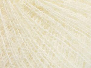 Fiber Content 40% Polyamide, 30% Acrylic, 20% Wool, 10% Mohair, Brand ICE, Cream, fnt2-60436