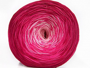 Fiber Content 50% Acrylic, 50% Cotton, Pink Shades, Brand ICE, fnt2-60473