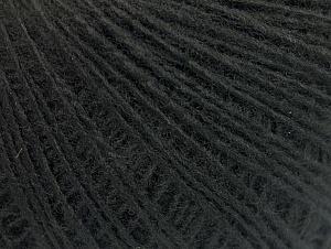 Fiber Content 100% Acrylic, Brand ICE, Black, Yarn Thickness 2 Fine  Sport, Baby, fnt2-60657