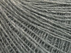 Fiber Content 100% Acrylic, Brand ICE, Grey, Yarn Thickness 2 Fine  Sport, Baby, fnt2-60661
