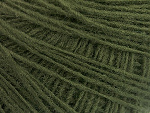 Fiber Content 100% Acrylic, Brand ICE, Dark Green, Yarn Thickness 2 Fine  Sport, Baby, fnt2-60663