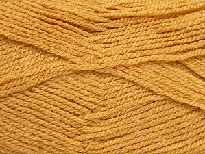Fiber Content 100% Acrylic, Brand ICE, Gold, Yarn Thickness 3 Light  DK, Light, Worsted, fnt2-60846