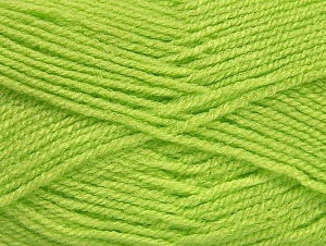 Fiber Content 100% Acrylic, Light Green, Brand ICE, Yarn Thickness 3 Light  DK, Light, Worsted, fnt2-60850