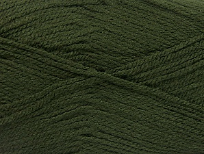 Fiber Content 100% Acrylic, Khaki, Brand ICE, Yarn Thickness 3 Light  DK, Light, Worsted, fnt2-60852