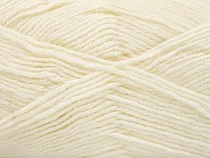 Fiber Content 50% Acrylic, 25% Wool, 25% Alpaca, Brand ICE, Ecru, Yarn Thickness 3 Light  DK, Light, Worsted, fnt2-60890