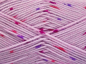 Fiber Content 100% Acrylic, Red, Purple, Lilac, Brand ICE, Fuchsia, Yarn Thickness 2 Fine  Sport, Baby, fnt2-60919