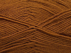 Fiber Content 100% Acrylic, Brand ICE, Caramel, Yarn Thickness 4 Medium  Worsted, Afghan, Aran, fnt2-60967