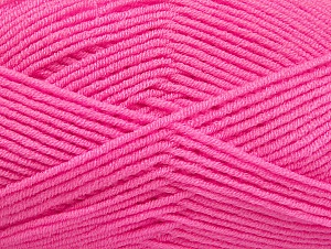 Fiber Content 100% Acrylic, Pink, Brand ICE, Yarn Thickness 4 Medium  Worsted, Afghan, Aran, fnt2-60974