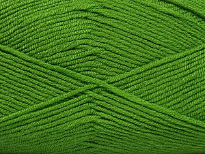 Fiber Content 100% Acrylic, Brand ICE, Green, Yarn Thickness 4 Medium  Worsted, Afghan, Aran, fnt2-60978