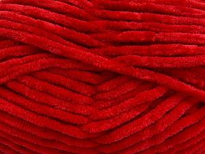 Fiber Content 100% Micro Fiber, Red, Brand ICE, Yarn Thickness 4 Medium  Worsted, Afghan, Aran, fnt2-61084