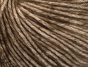 Fiber Content 85% Acrylic, 15% Bamboo, Brand ICE, Brown, Beige, Yarn Thickness 4 Medium  Worsted, Afghan, Aran, fnt2-61096