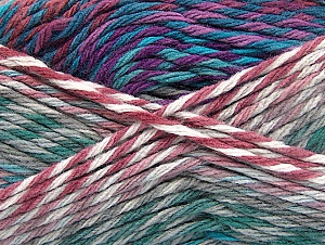 Fiber Content 100% Premium Acrylic, White, Turquoise, Orchid, Khaki, Brand ICE, Grey, Yarn Thickness 4 Medium  Worsted, Afghan, Aran, fnt2-61110
