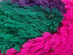 Fiber Content 95% Acrylic, 5% Polyester, Purple, Pink, Lilac, Khaki, Brand ICE, Green, Yarn Thickness 6 SuperBulky  Bulky, Roving, fnt2-61129