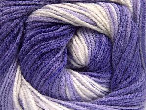 Fiber Content 100% Baby Acrylic, Lilac Shades, Brand ICE, Cream, Yarn Thickness 2 Fine  Sport, Baby, fnt2-61138