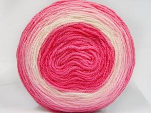 Fiber Content 100% Premium Acrylic, Pink Shades, Brand ICE, Yarn Thickness 2 Fine  Sport, Baby, fnt2-61149