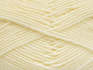 Fiber Content 100% Acrylic, Brand ICE, Cream, Yarn Thickness 4 Medium  Worsted, Afghan, Aran, fnt2-61278