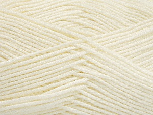 Fiber Content 60% Bamboo, 40% Polyamide, Brand ICE, Cream, Yarn Thickness 2 Fine  Sport, Baby, fnt2-61309