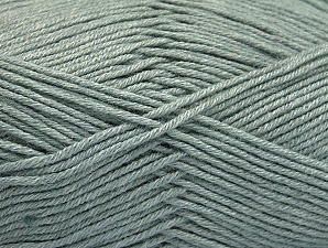 Fiber Content 60% Bamboo, 40% Polyamide, Light Grey, Brand ICE, Yarn Thickness 2 Fine  Sport, Baby, fnt2-61311