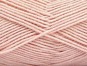 Fiber Content 60% Bamboo, 40% Polyamide, Powder Pink, Brand ICE, Yarn Thickness 2 Fine  Sport, Baby, fnt2-61331