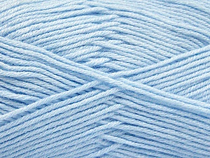 Fiber Content 60% Bamboo, 40% Polyamide, Brand ICE, Baby Blue, Yarn Thickness 2 Fine  Sport, Baby, fnt2-61339